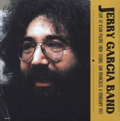 "Jerry Garcia Band ""Live At KSAN Pacific High Studio, San Francisco, February 6, 1972"" 2xLP"