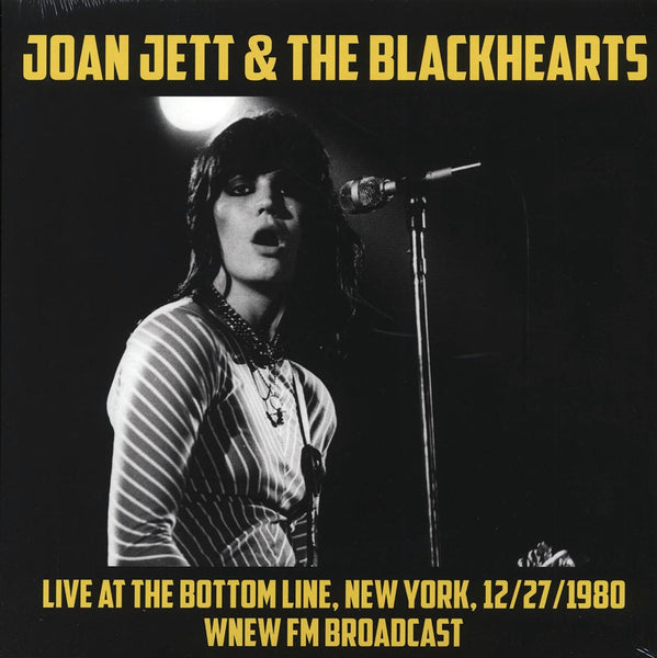"Joan Jett & The Blackhearts ""Live At The Bottom Line, New York, 12/27/1980"" LP"