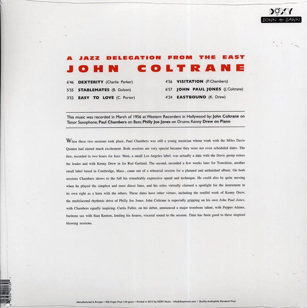 "Coltrane, John ""A Jazz Delegation From The East"" LP"