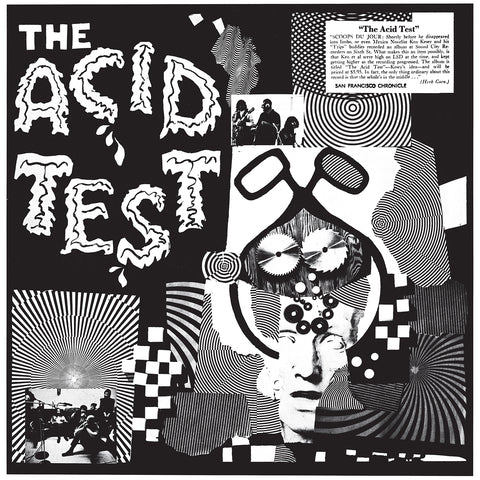 "Ken Kesey ""The Acid Test / Grateful Dead"" LP"