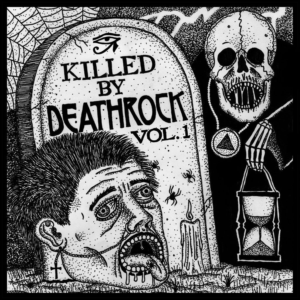 V/A Killed By Deathrock LP - Dead Tank Records
