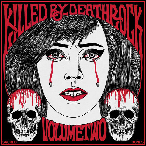 "V/A Killed By Deathrock ""Vol. 2"" LP"