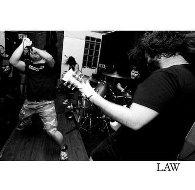 "Law ""Demo"" 7"" - Dead Tank Records"
