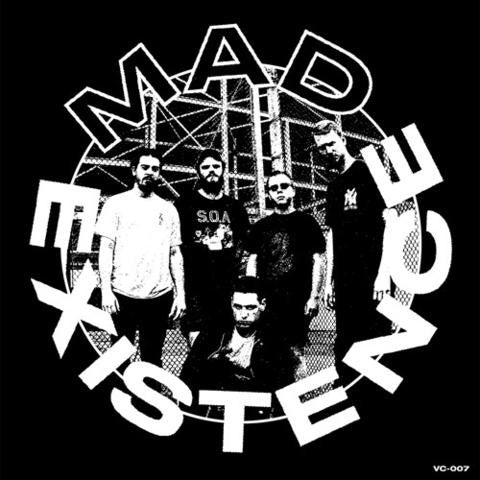 "Mad Existence ""s/t"" 7"" - Dead Tank Records"