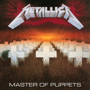 "Metallica 'Master of Puppets"" (color vinyl) LP"