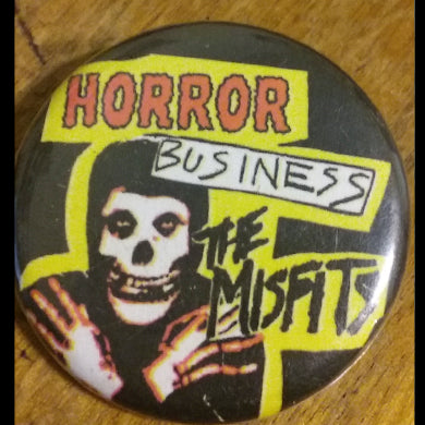 "Misfits ""Horror""- 1.25"" Button"
