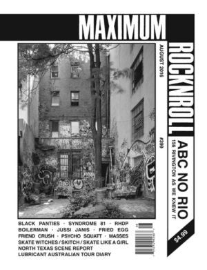 Maximum Rock n Roll #399 - Zine - Dead Tank Records