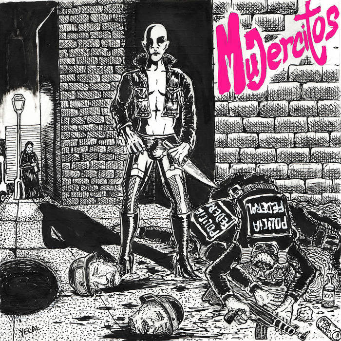 "Mujercitos ""s/t"" 7"" - Dead Tank Records"