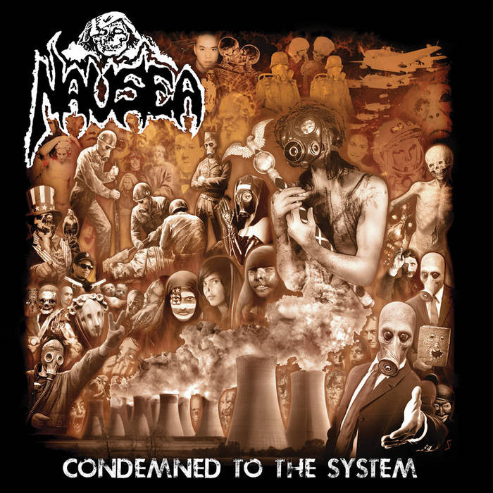 "Nausea ""Condemned to the System"" LP - Dead Tank Records"
