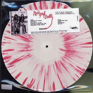"New York Dolls ""Live At Radio Luxembourg, Paris, France, December 1973"" LP"