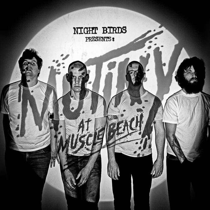 "Night Birds ""Mutiny and Muscle Beach"" LP - Dead Tank Records"