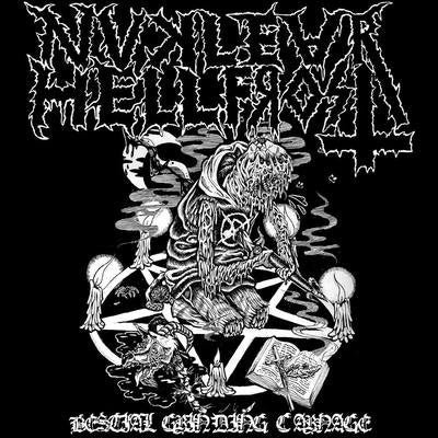 "Nuclear Hellfrost ""Bestial Grinding Carnage"" FLEXI 7"""