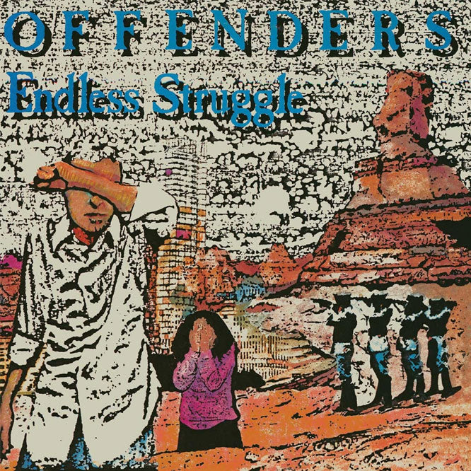 "Offenders ""Endless Struggle/ We Must Rebel/ I Hate Myself"" 2xLP"