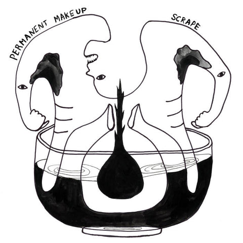 "Permanent Makeup ""Scrape"" LP"