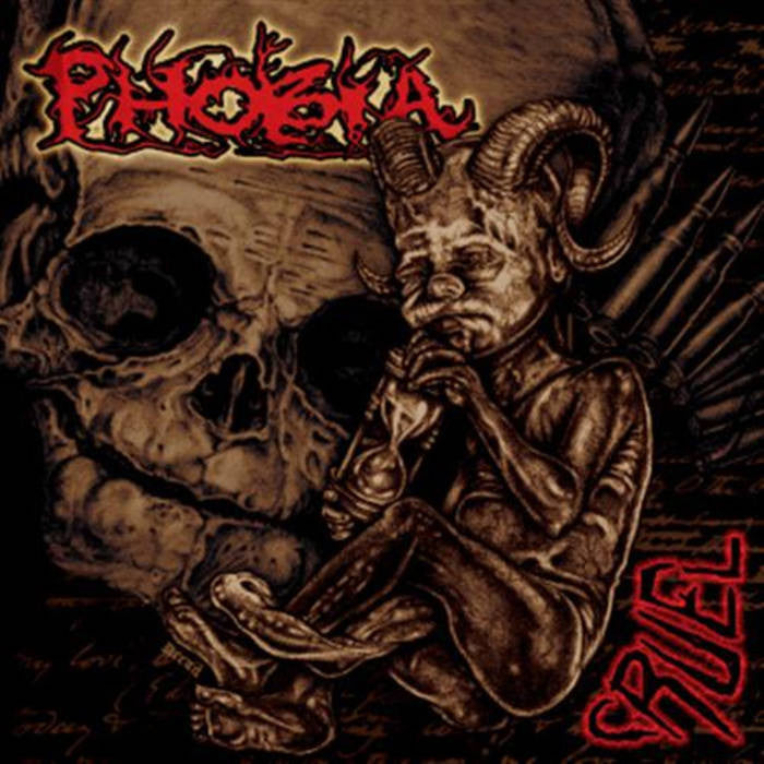 "Phobia ""Cruel"" LP - Dead Tank Records"