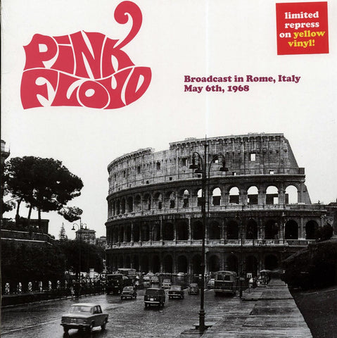"Pink Floyd ""Broadcast In Rome, Italy, May 6th, 1968"" LP"