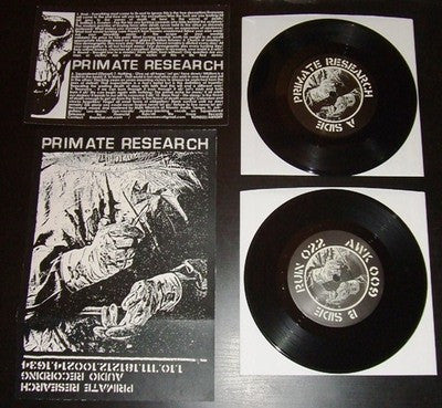 "Primate Research ""s/t"" 7"" - Dead Tank Records"