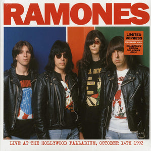 "The Ramones ""Live At The Hollywood Palladium, October 14th, 1992"" LP"