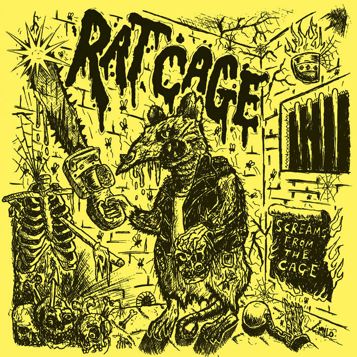 "Rat Cage ""Screams from the Cage"" LP"