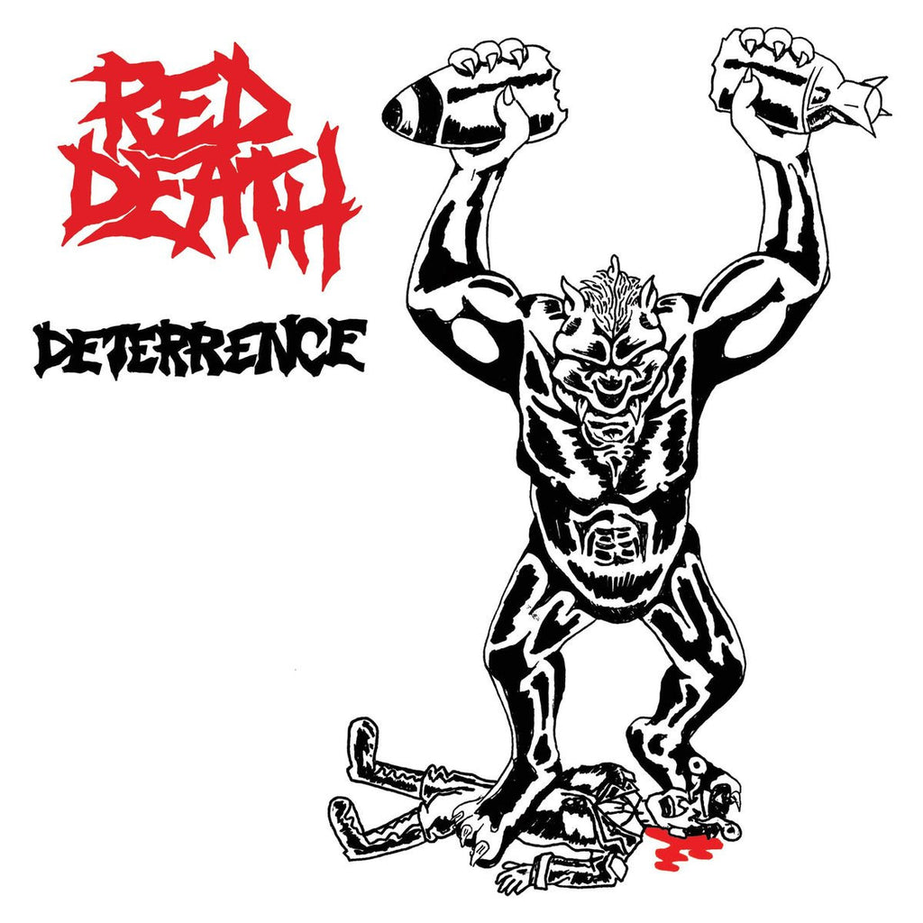 "Red Death ""Deterrence b/w Empty Shell"" 7"" - Dead Tank Records"