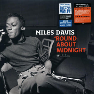 "Davis, Miles ""Round About Midnight"" LP"