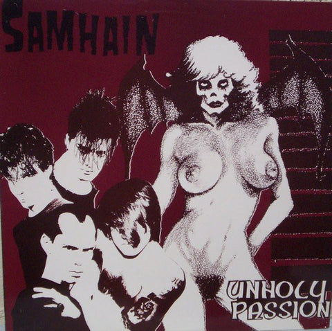 "Samhain ""Unholy Passion"" LP - Dead Tank Records"