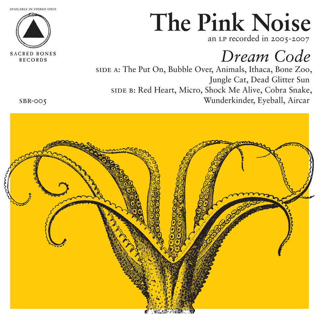 "Pink Noise, The ""Dream Code"" LP - Dead Tank Records - 1"