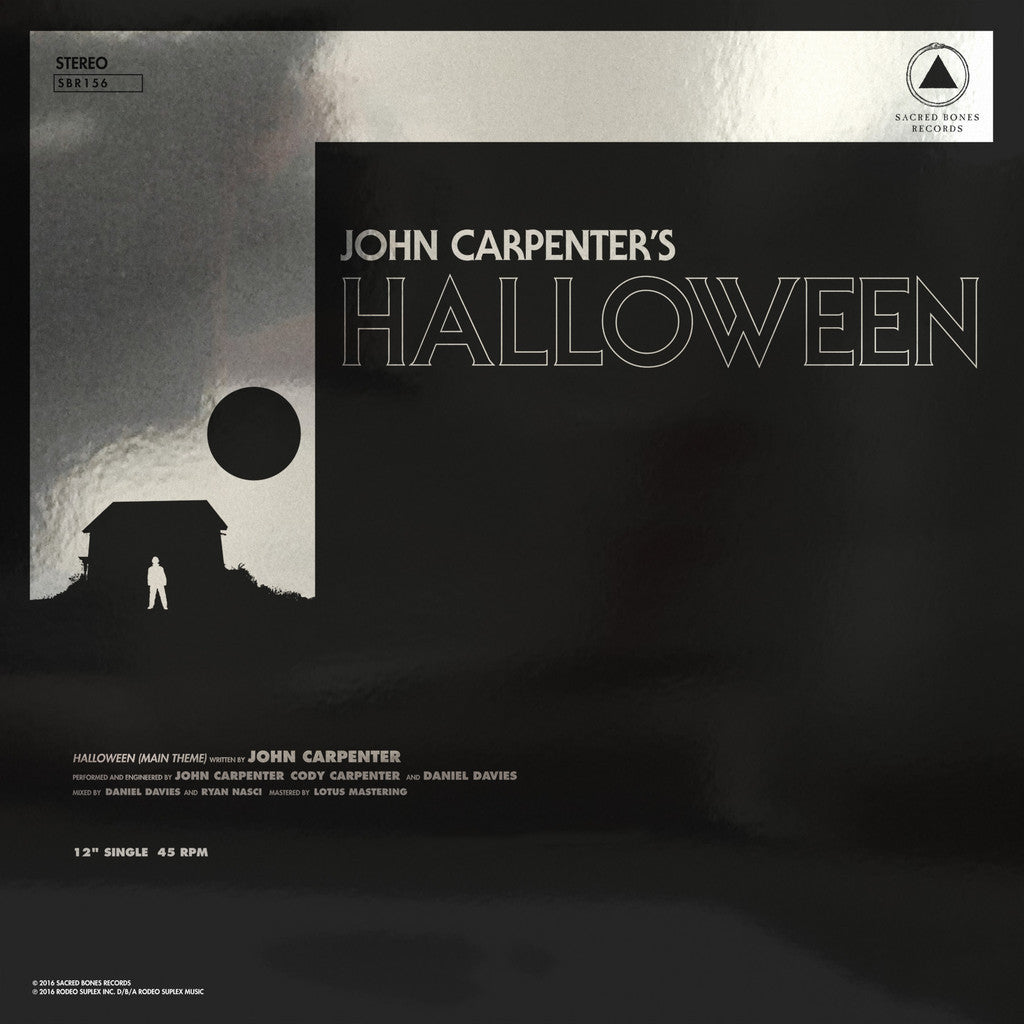 "Carpenter, John ""Halloween b/w Escape From New York"" 12"" - Dead Tank Records"