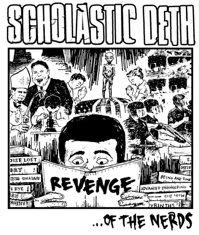 "Scholastic Deth ""Revenge""- (Short and Long Sleeve) Shirt"