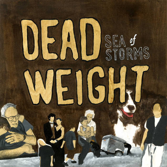 "Sea of Storms ""Dead Weight"" LP - Dead Tank Records"