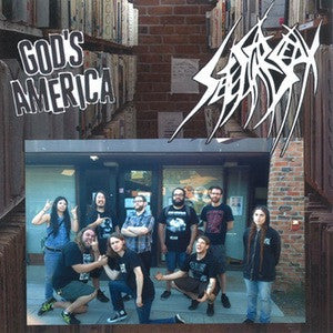 "Sete Star Sept / God's America - split 7"" - Dead Tank Records"