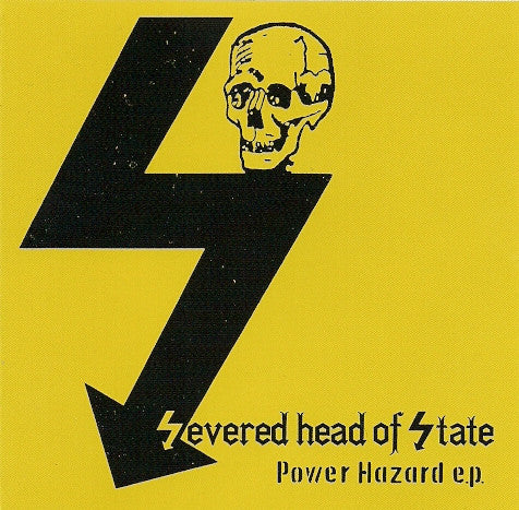 "Severed Head of State ""Power Hazard"" CD - Dead Tank Records"
