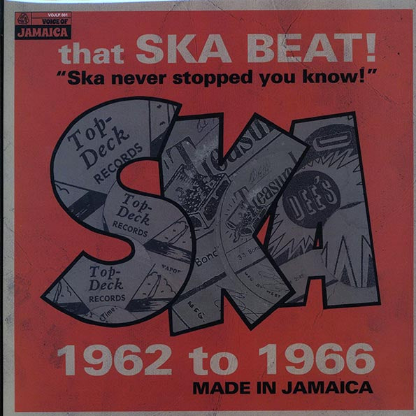 "V/A ""That Ska Beat! Ska Never Stopped You Know! 1962-1966"" LP"