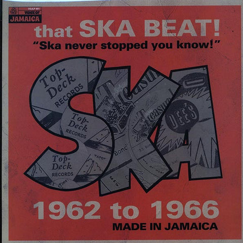 V/A That Ska Beat! Ska Never Stopped You Know! 1962-1966