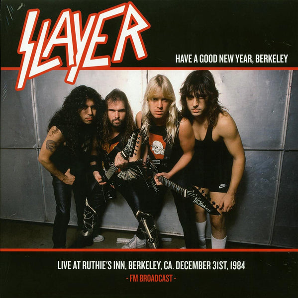"Slayer ""Have A Good New Year, Live 1984"" LP"