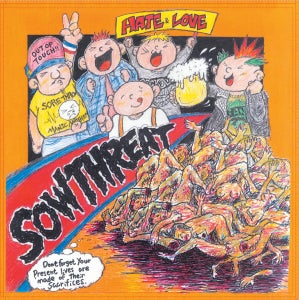 "Sow Threat ""Love and Hate"" LP"