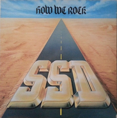 "SSD ""How We Rock"" LP - Dead Tank Records"