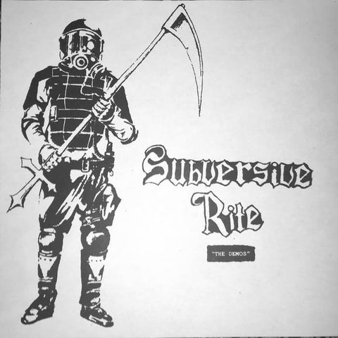 "Subversive Rite ""The Demos"" LP"