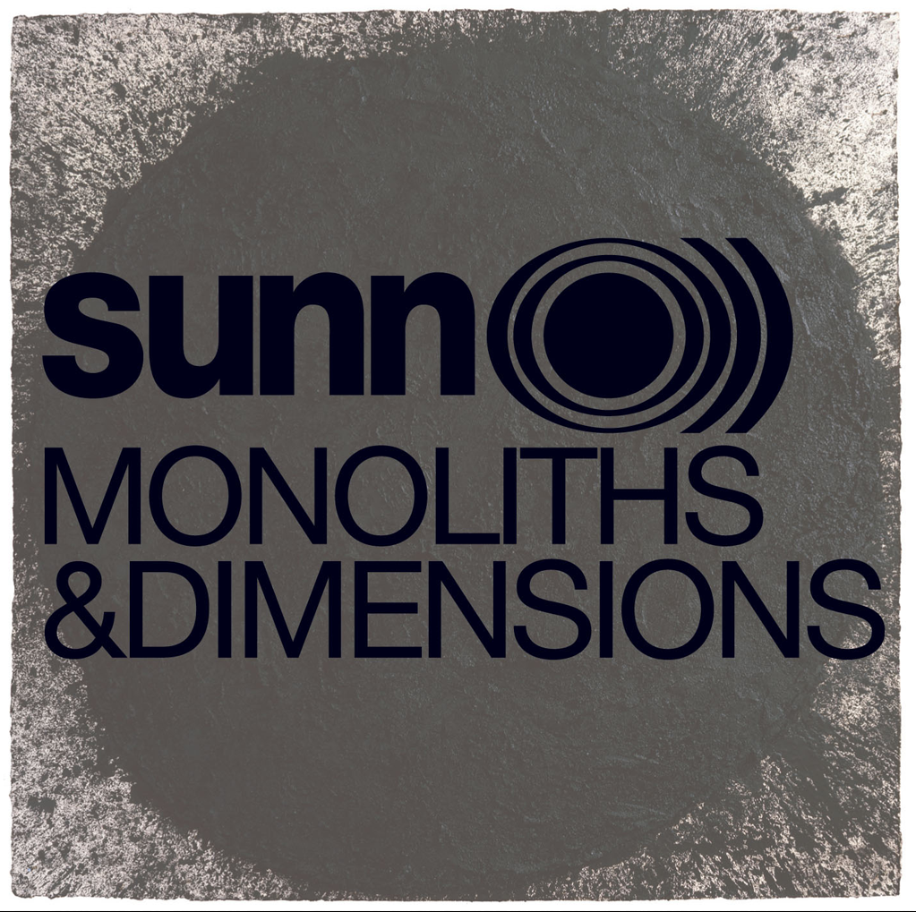 "Sunn O))) ""Monoliths and Dimensions"" 2xLP - Dead Tank Records"