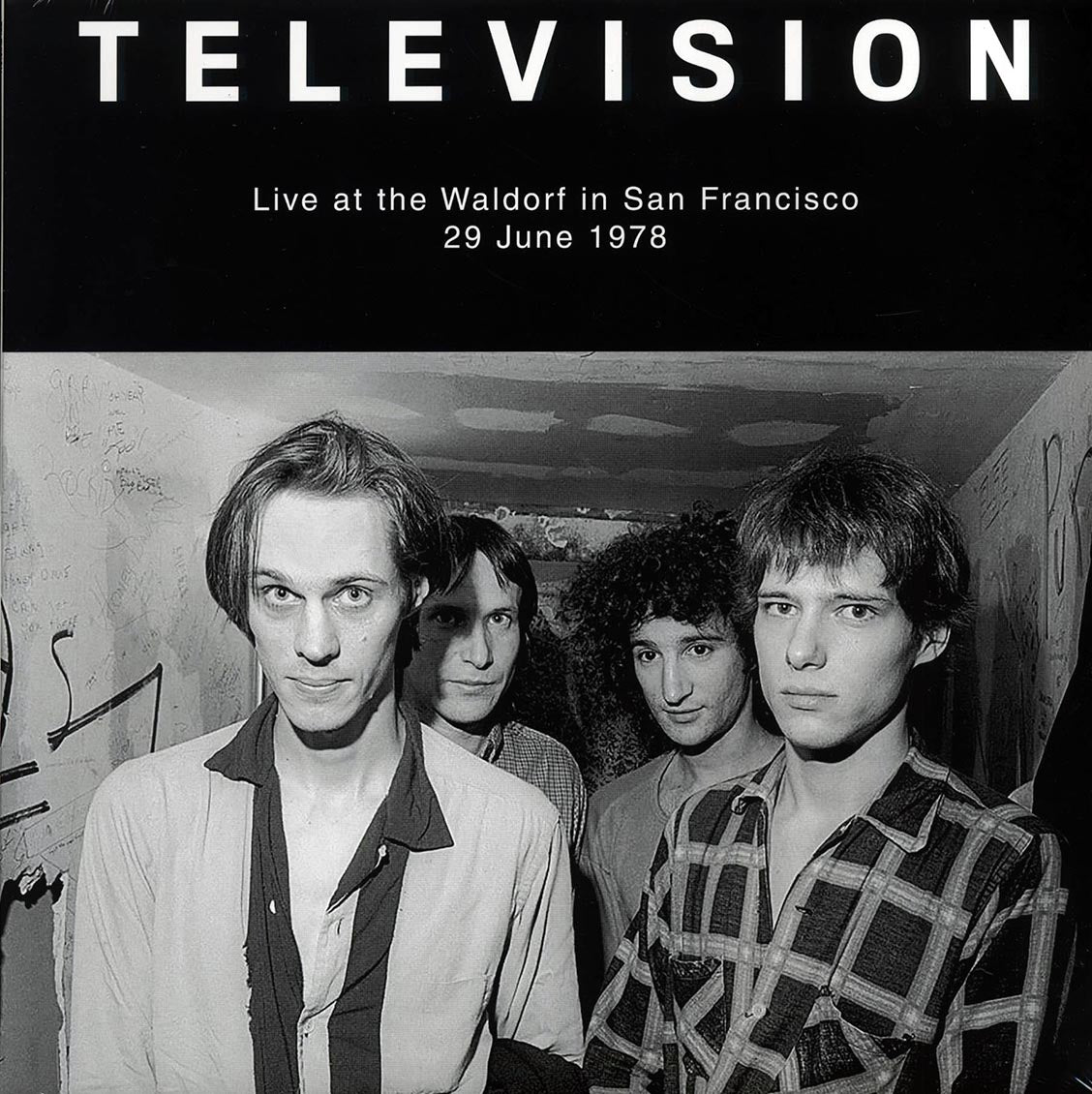 "Television ""Live At The Waldorf"" LP"