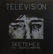 "Television ""Sketches; The Demos 1974-75"" LP - Dead Tank Records"