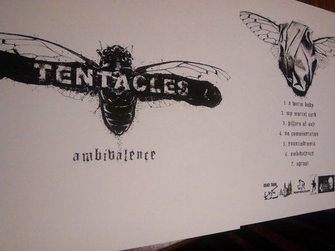 "Tentacles ""Ambivalence"" LP - Dead Tank Records - 2"