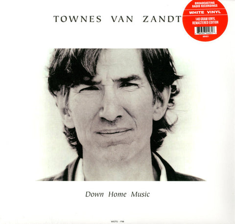 "Townes Van Zandt ""Down Home Music - Live at The Down Home in Johnson City, TN - April 18, 1985"" LP"