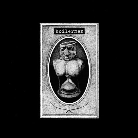 "Boilerman ""s/t"" One-Sided 10"" - Dead Tank Records - 1"