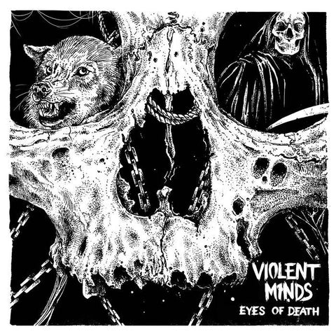 "Violent Minds ""Eyes of Death + Bonus"" LP - Dead Tank Records"