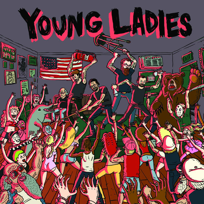 "Young Ladies ""s/t"" 7"""