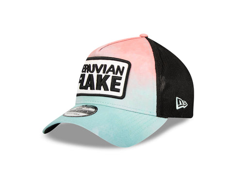 PVFK X New Era Tie Dye Trucker Hat