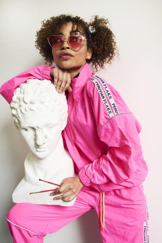 Missy Windbreaker Pants - Pink