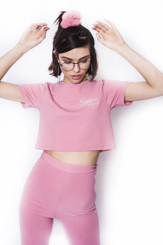Pretty in Pink Croptop