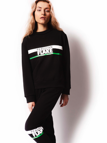 Striped Black Original Sweatshirt
